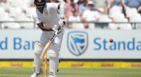 Sri Lanka's batsman and captain Angelo Mathews plays a shot during their second Test match against South Africa at Newlands Cricket Stadium in Cape Town, on January 5, 2017.  By GIANLUIGI GUERCIA (AFP/File)