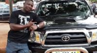 The Alleged Fraudster With The Toyota Tacoma Car