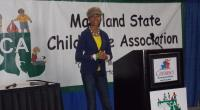 Zuriel Addresses Maryland State Education Conference