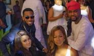 Singer, D'banj Spotted Looking Cheerful with Wife