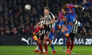 Substitute Jordan Ayew headed in a later winner to deny Grimsby a third round replay
