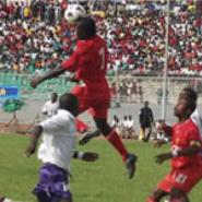Kotoko-Dolpins CAF match rained off
