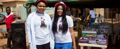 Photos : Ashley Yusuf foundation Holds free medical outreach in Abuja