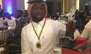 Afro-Arab boss Salam Amadu wins Sports Personality of the Year at Forty under 40 awards night