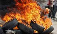 Era Of Bad Roads: Irate Ablekuma Residents Burn Tyres, Invoke Curses On Policians