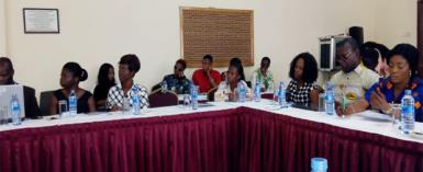 A section of participants at the workshop
