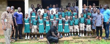 Sunyani-East,Enfield Chase Rotary Club Donates Educational Materials To School