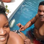Actress, Omotola Jalade's Hubby Teaches Couple how to Delight their Spouse