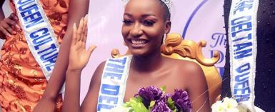 Mark shalom Wins The Deltan Queen 2018 beauty pageant