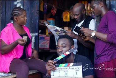 Singer, 2Baba Joins Gbenro Ajibade, Susan Peters on Set