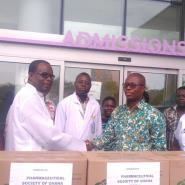Pharmaceutical Society Donates To Gas Explosion Victims