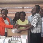 Korle-Bu CEO And Two Of His  Daughters Donate Supplies Worth Over Ghc 30,000 To Korle-Bu