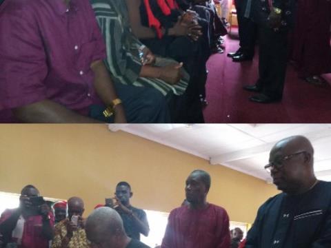 Mahama Mourns James Town Chief
