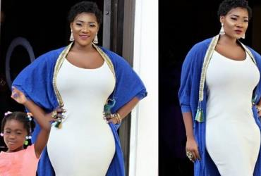 Actress, Mercy Johnson Flaunts Curves in Public