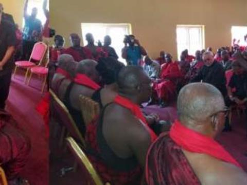Rawlings Commiserates With Family Of James Town Chief