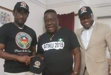 Actor, Mr Ibu Campaigns for Atiku Abubakar