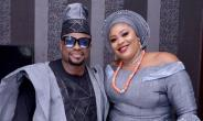 Nollywood actor, Imeh Bishop Celebrates 5th year Wedding Anniversary