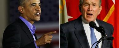 Obama, Bush Worried Over Deep Divisions Created In The US