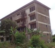 One Of The Abandoned Buildings At The Swedru Police Headquarters