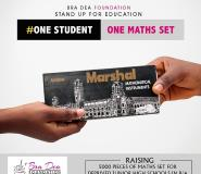 B/A: Bra Dea Foundation Gives Mathematical Sets To 5,000 JHS Students