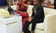 Van Vicker Attends D.A.D. Movie Premiere & Wema Sepetu's Birthday Party in Tanzania