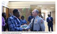 Franconia Police In Fairfax Virginia Commended By Bishop Adonteng-Boateng