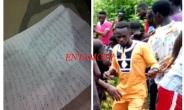 What A Shock! Ghost Writes A Letter To Husband Who Butchered Her
