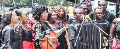 'Young' Musicians Missing At Paapa Yankson's Funeral Service