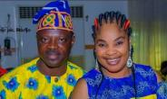 Actor, Olayiwola Rasaq with Wife Waxing Stronger in love Together
