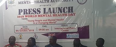 On 2018 Mental Health Awareness Week