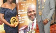 Spotlight - Honorable Kennedy Agyepong, MP Honored with Lifetime Achievement on Philanthropy and Public Service at the United Nations