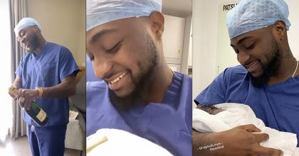Super Star Davido Now A Father Of Three