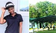 Finding Solace In Golf – Major Mahama's Widow Takes To The Practice Range