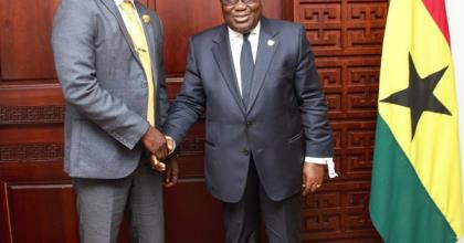 """""""You Have The Unalloyed Support Of My Gov't"""" – President Akufo-Addo To New GFA Boss"""