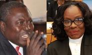 Hon. Martin Amidu and Ms. Gloria Akuffo