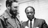 Fidel Castro and Kwame Nkrumah