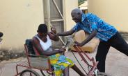 The late Abdulai and a patient