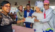 Actress, Abimbola Ogunnowo in tears of Joy as She Weds lover