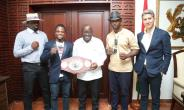 """""""You Have My Support"""" – President Akufo-Addo To Isaac Dogboe, Ghanaian Boxers"""