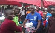 Asante Akyem North MP And DCE Donate To The Youth