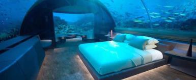 Visit The World's First Underwater Hotel