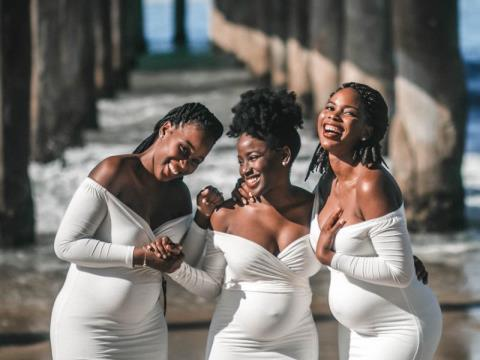 These Are The 3 Sisters  Having Babies At The Same Time