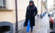 Actress, Stephanie Linus Storms Italy to Preach About Human Trafficking
