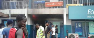 Kumasi: Fire Incident Disrupts Banking Services At Ecobank Tafo