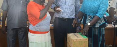 Amenfi East; 124 Person's  With Disabilities Receive Supports
