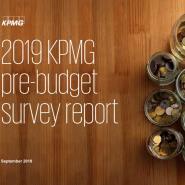 2019 KPMG pre-budget survey report