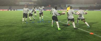 FIFA U-17 WC: All Set For Uruguay Vs Ghana Match Tonight
