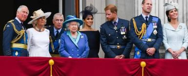 The members of the Royal Family: Some of them are particularly popular, others rather not