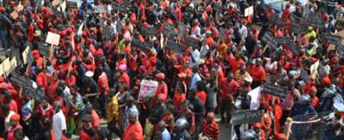 Volta Region: Demonstration Against The Creation Of A New Region Is Coming Off As Planned