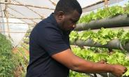 Ghanaian Actor, John Dumelo shows of his Large Farm